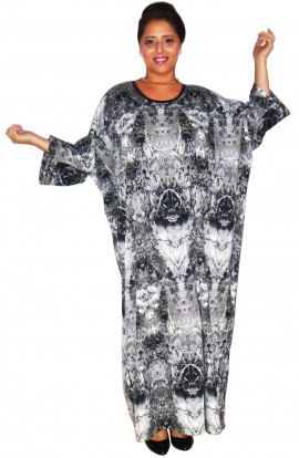"KAFTAN - REFLECTIONS - ONE ONLY - 49"" length"