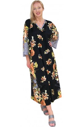 JERSEY KAFTAN GOLDEN ROSE