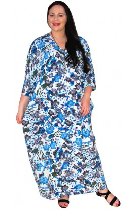 KAFTAN - BLUE WILLOW