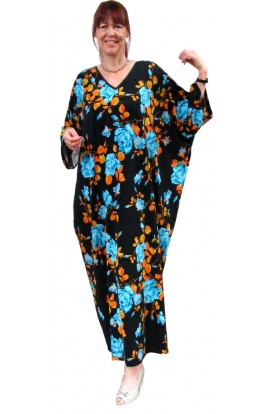 KAFTAN - BLUE ROSE