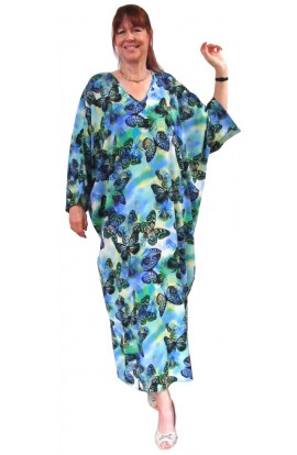 KAFTAN - BUTTERFLY BLUE