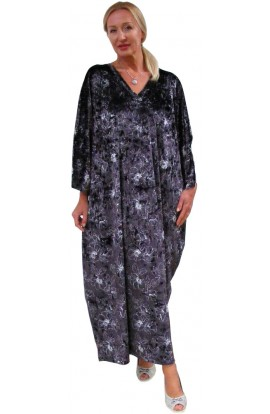 VELOUR KAFTAN - PLATINUM PERFECTION