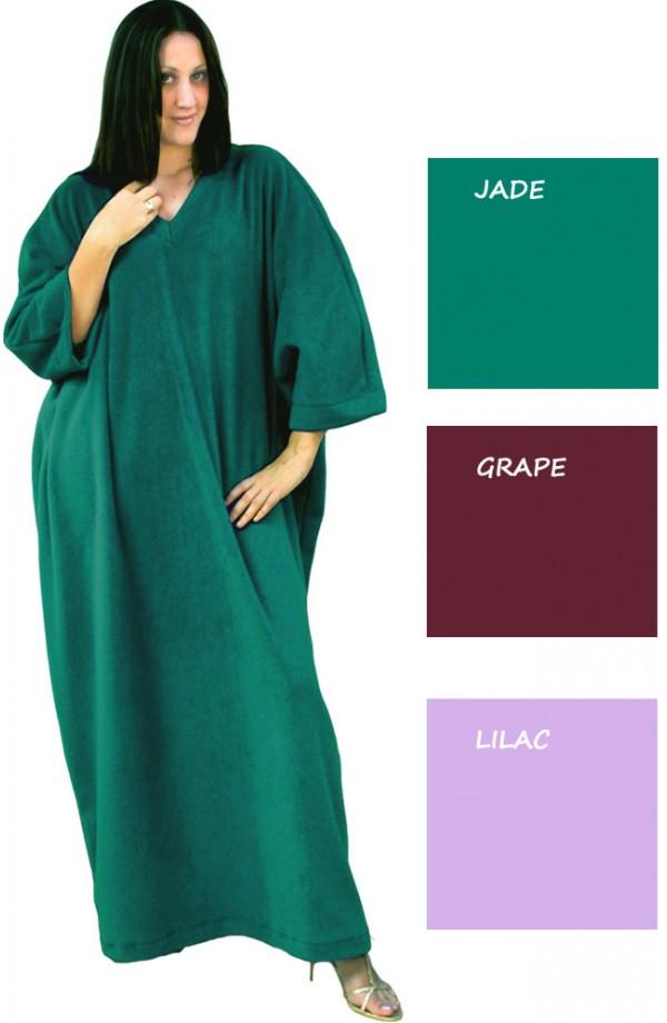 FLEECE KAFTAN - in a choice of three new colours