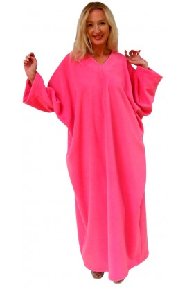 FLEECE KAFTAN - STRAWBERRY